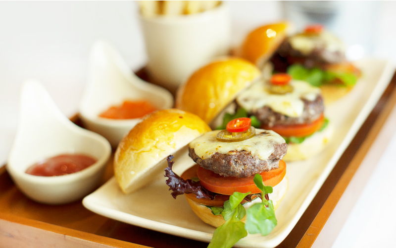 Trio Mini Burger