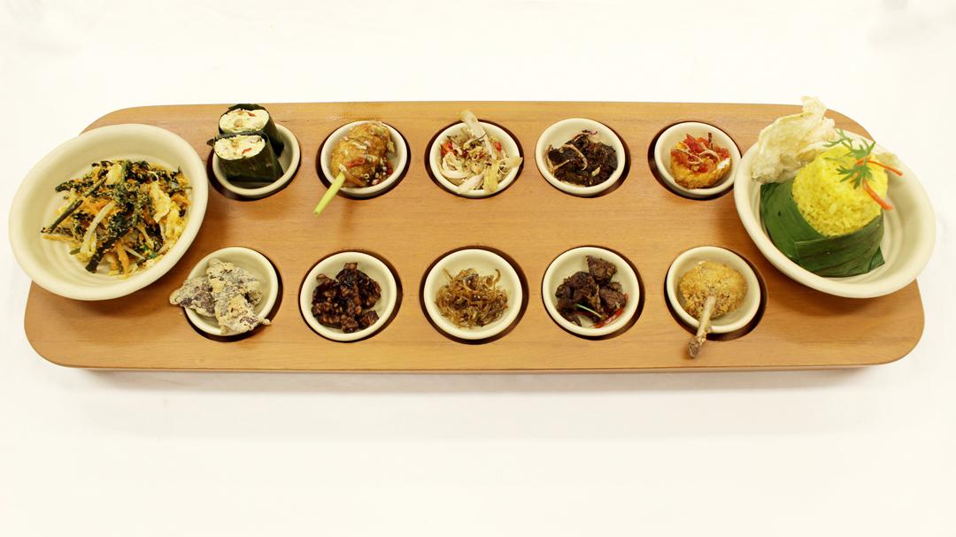 12 Masakan Nusantara dalam Satu Sajian Menu Rijsttafel di Restoran Rijsttafel Bandung, Keuken All Day Dining