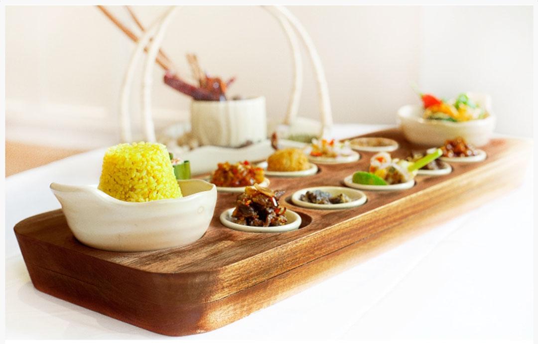 Nikmatnya Santapan Menu Rijsttafel di Restoran Rijsttafel Bandung, Keuken All Day Dining, De Paviljoen
