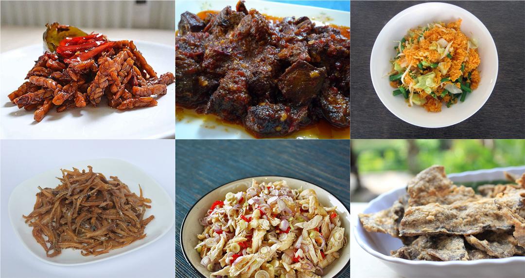 Menu Masakan Nusantara dalam Sajian Hidangan Rijsttafel di Restoran Rijsttafel Bandung