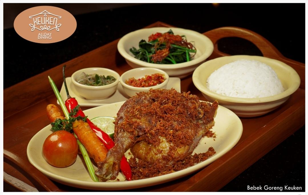 Bebek Goreng Keuken Terbuat dari Bebek Peking, Jenis Bebek Terbaik untuk Olahan Daging Bebek