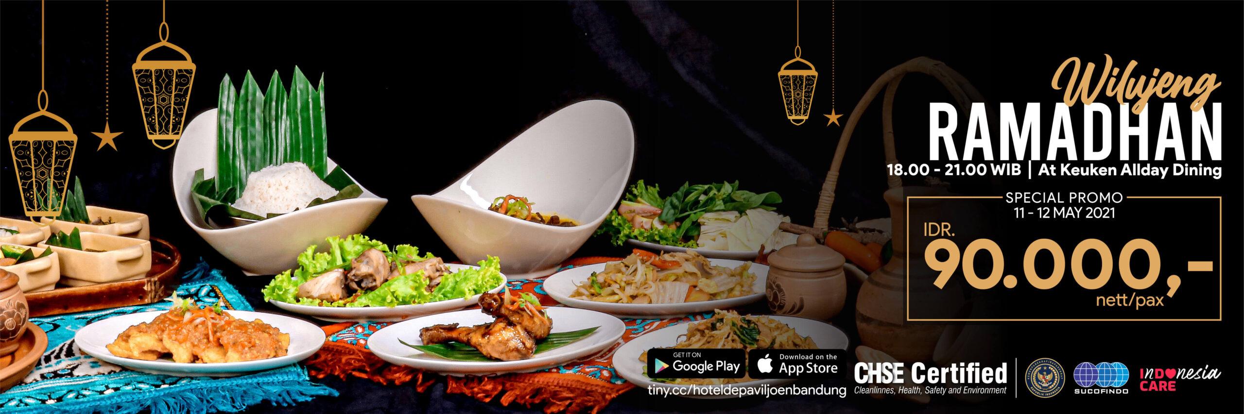 Iftar discount 40%, Ifatr 2021 De Paviljoen Bandung