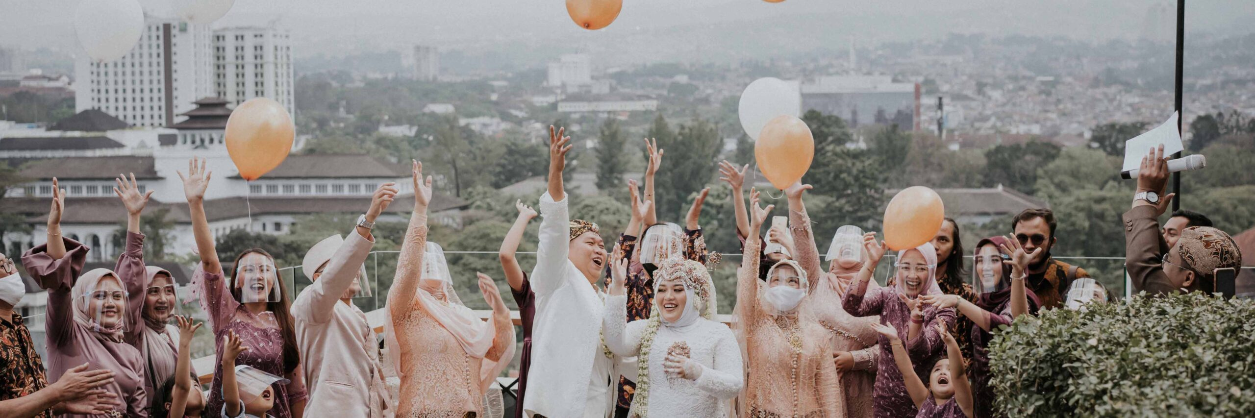 Outdoor-Wedding, Rooftop Wedding